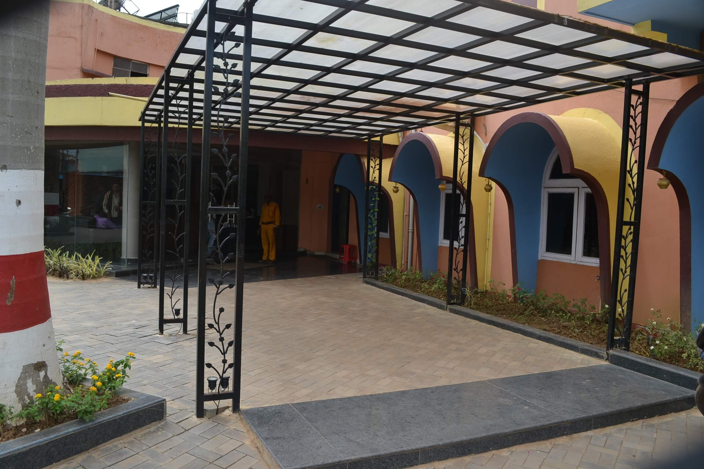 Entrance Area of Hotel Akanksha