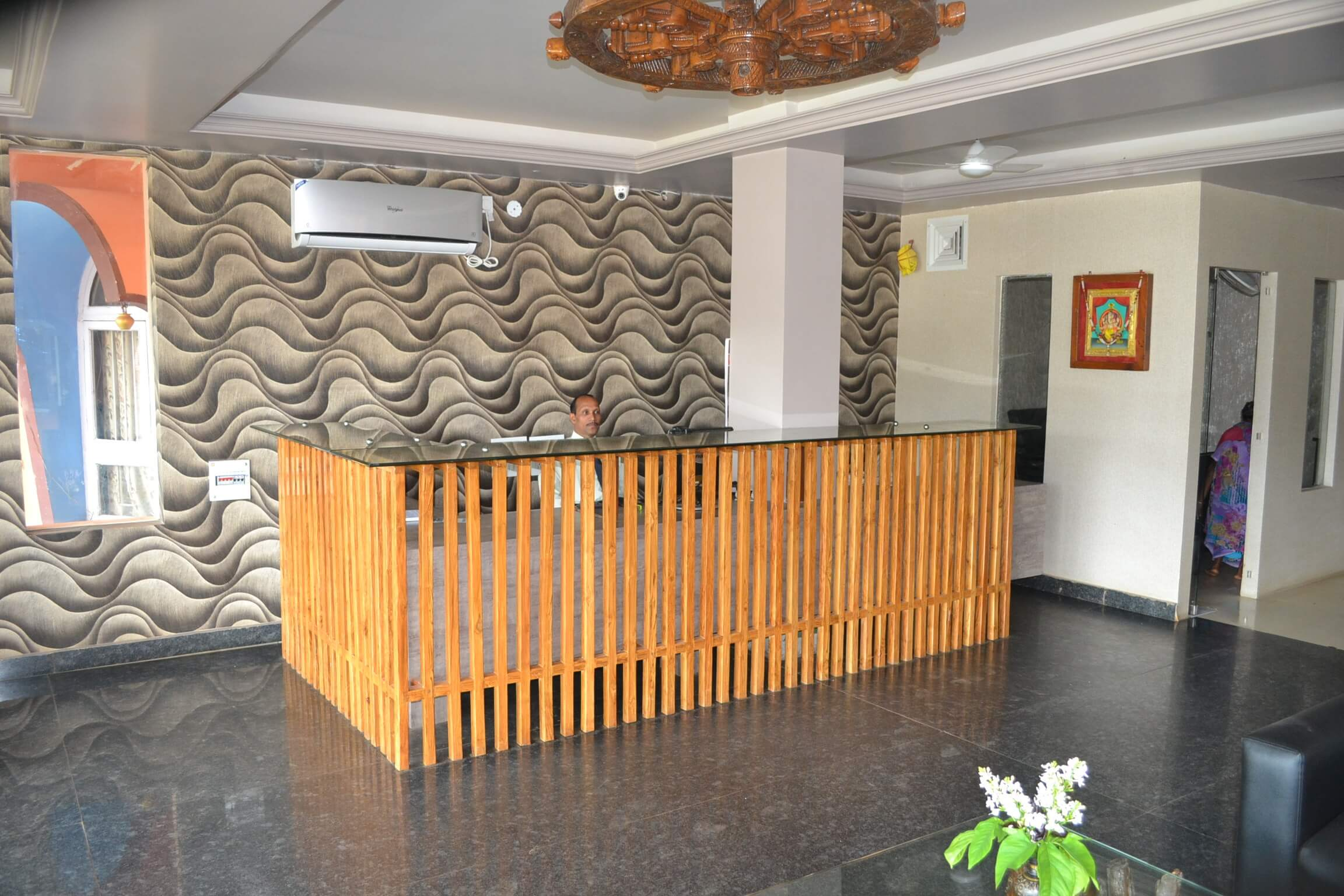 Reception Area of Hotel Akanksha